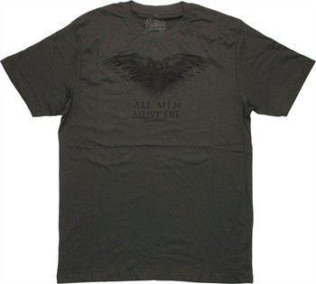 Game of Thrones Three-Eyed Raven All Men Must Die T-Shirt Sheer