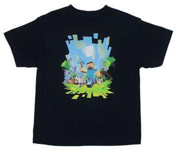 Adventure - Minecraft Youth T-shirt