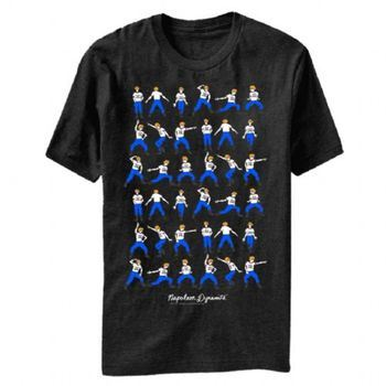 Napoleon Dynamite Dance Moves Adult Black T-Shirt