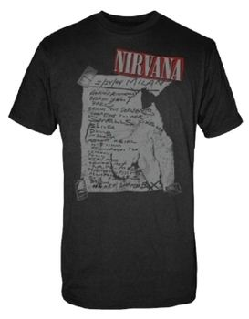 Nirvana Milan Set List Men's T-Shirt