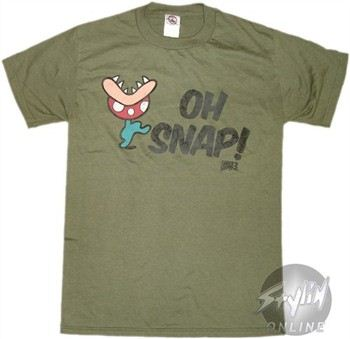 Super Mario 3 Oh Snap Flower T-Shirt