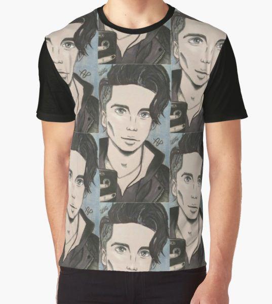 Andy Biersack  Graphic T-Shirt by elisema T-Shirt