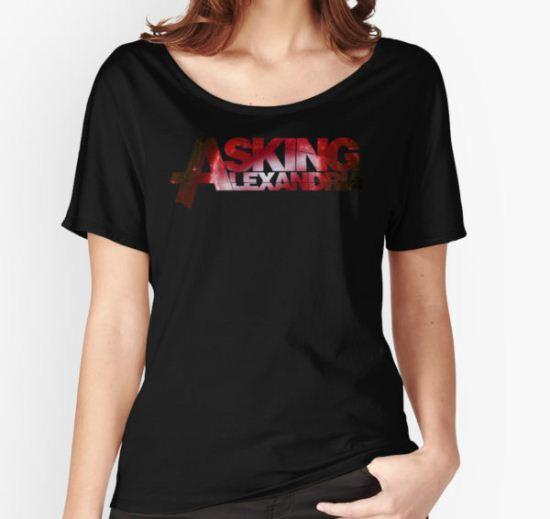 asking alexandria Women's Relaxed Fit T-Shirt by bengisulak T-Shirt
