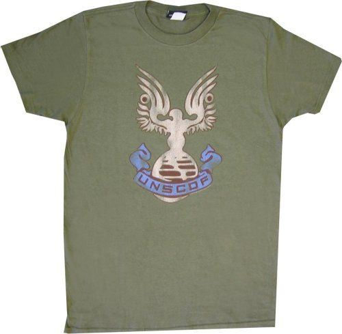 Halo 3 UNSCDF Green T-shirt