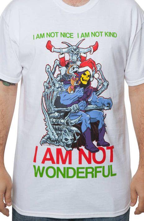 Skeletor and Relay Christmas Shirt