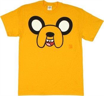 Adventure Time Jake Face T-Shirt