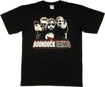 Boondock Saints Brothers Shooting Around Rocco T-Shirt