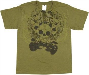Guitar Hero Aces Eights Youth T-Shirt