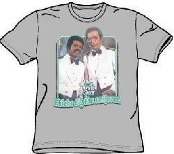 Love Boat Shirt Dig The Uniform Silver T-Shirt