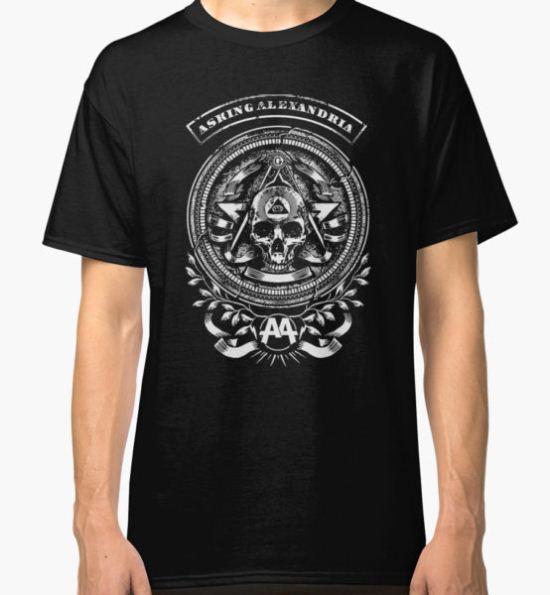 asking alexandria Classic T-Shirt by bengisulak T-Shirt
