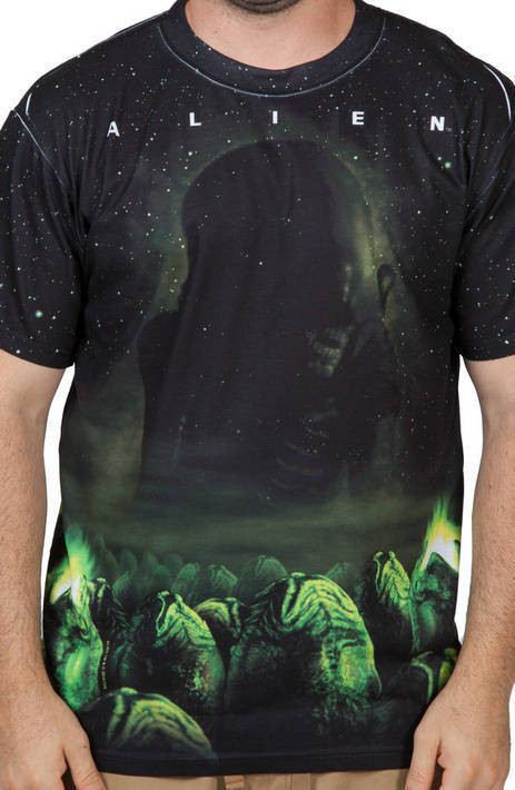 Alien Sublimation Shirt