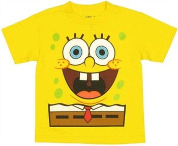 Spongebob Squarepants Costume Juvenile T-Shirt