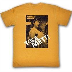 Animal House Shirt Toga Party Adult Orange Tee T-Shirt