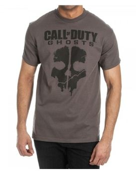 Call of Duty Ghosts Logo Charcoal Men's T-Shirt