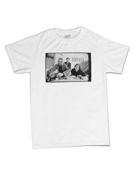 Nirvana B & W Photo Men's T-Shirt