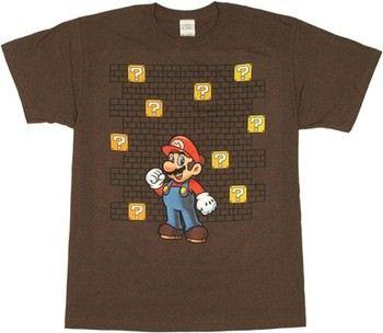 Nintendo Super Mario Coin Boxes T-Shirt