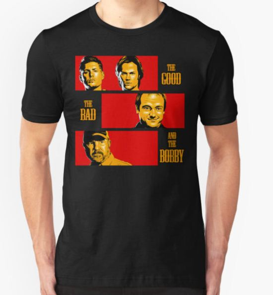 The Good, The Bad, And The Bobby T-Shirt by coinbox tees T-Shirt