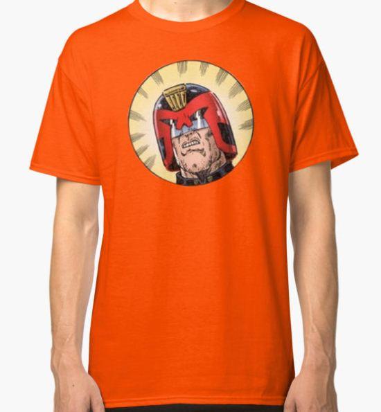 Dredd Classic T-Shirt by lochlainn T-Shirt