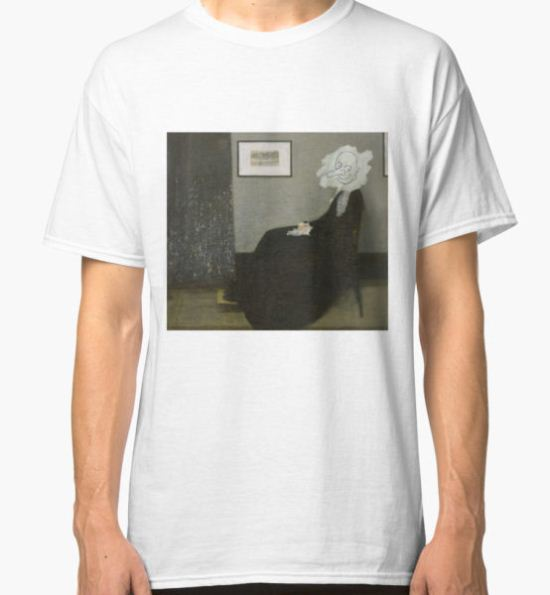 Whistler's Mother - Mr. Bean Classic T-Shirt by andraskiss T-Shirt