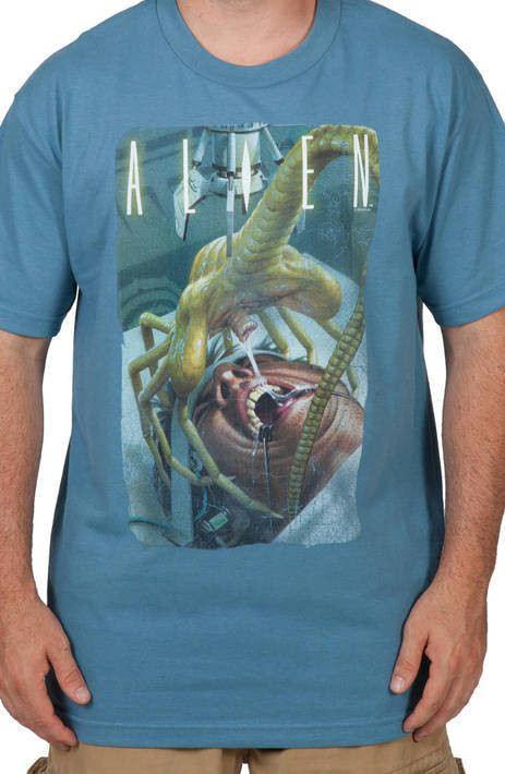 Face Alien Shirt
