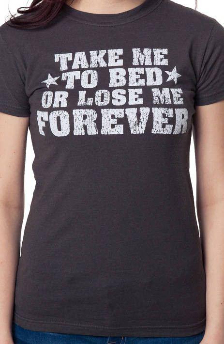 Top Gun Take Me To Bed T-Shirt