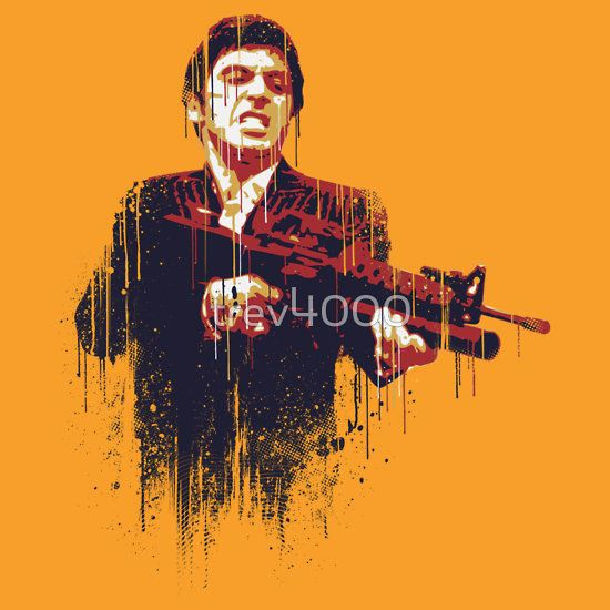 Scarface by trev4000 T-Shirt