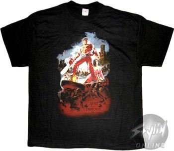 Army of Darkness Heap Black T-Shirt