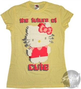 Hello Kitty The Future of Cute Baby Doll Tee by MIGHTY FINE