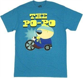 South Park Eric Cartman Po Po T-Shirt