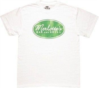 True Blood Vintage Merlotte's Bar and Grill Logo T-Shirt