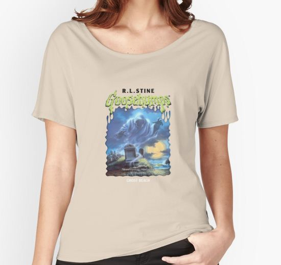 'Ghost Beach Goosebumps' Women's Relaxed Fit T-Shirt by litzywallace T-Shirt
