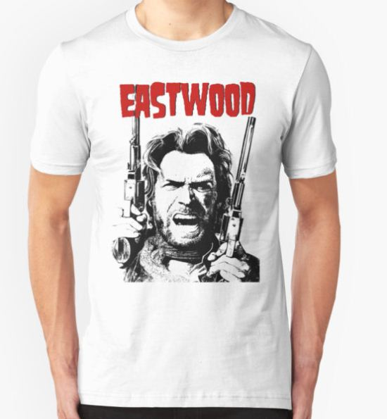 CLINT EASTWOOD -OUTLAW- T-Shirt by sasha22 T-Shirt