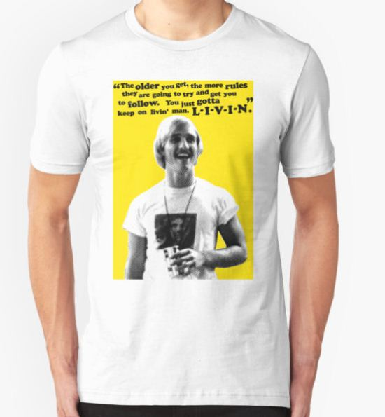 David Wooderson Birthday Card T-Shirt by Socialfabrik T-Shirt
