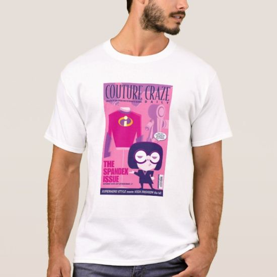 "The Incredibles' Edna ""Couture Craze"" Poster T-Shirt"