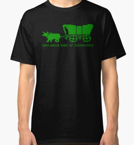Oregon Trail Classic T-Shirt by pricocynical T-Shirt