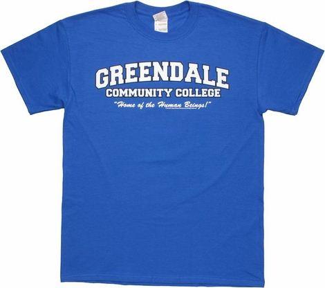 Community Greendale Human Beings T Shirt