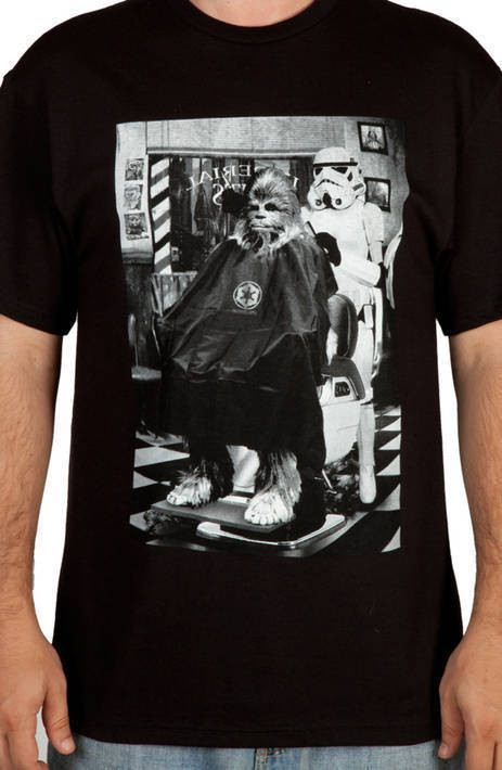 Death Star Barber Shop Shirt
