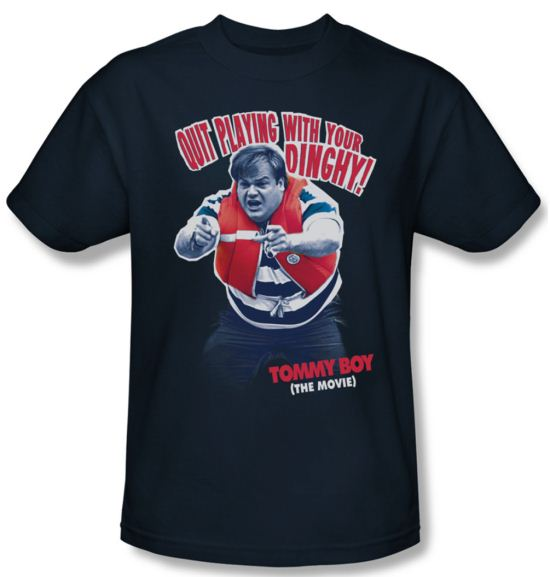 Tommy Boy Shirt Dinghy Adult Navy Tee T-Shirt