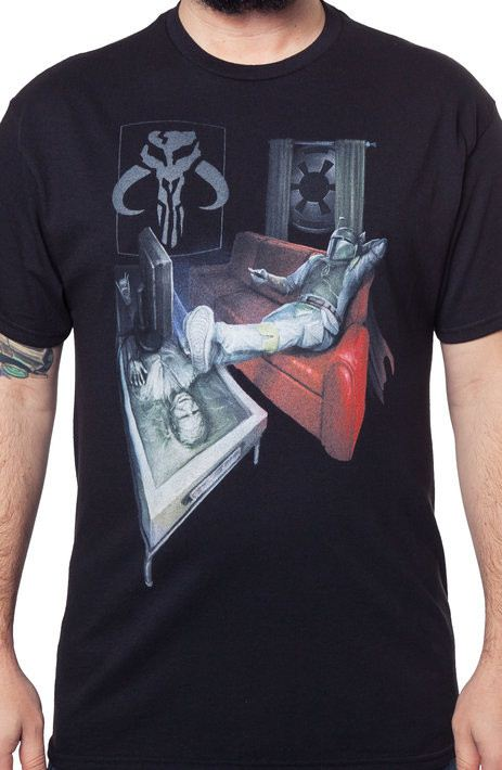 Carbonite Han Solo Coffee Table Shirt
