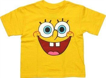 Spongebob Squarepants Face Toddler T-Shirt