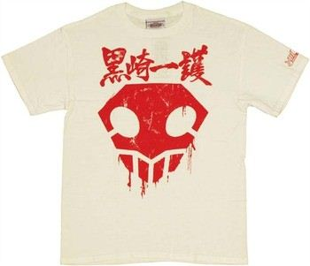 Bleach Ichigo Badge Hollow Symbol T-Shirt