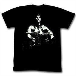 Conan Shirts Sitting Bull Adult Black Tee T-Shirt