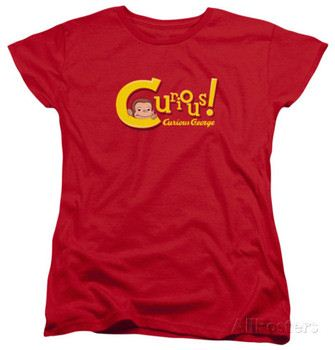 Womens: Curious George - Curious
