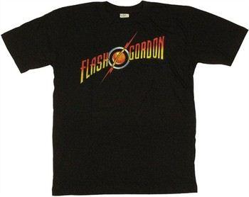 Flash Gordon Logo T-Shirt Sheer
