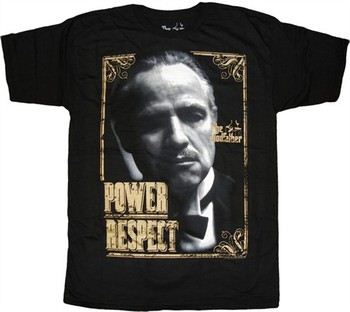 The Godfather Power Respect T-Shirt