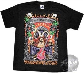 Guitar Hero Lou's Inferno Youth T-Shirt