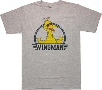 Sesame Street Big Bird Wingman T-Shirt Sheer