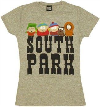 South Park Boys Name Baby Doll Tee