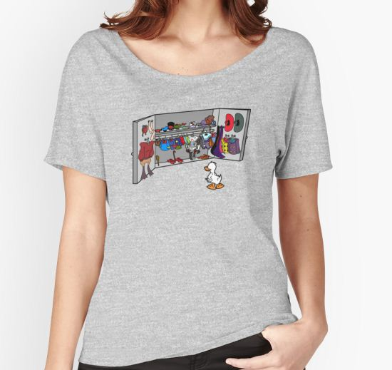 'Which Duck to Be Today?' Women's Relaxed Fit T-Shirt by robotghost T-Shirt