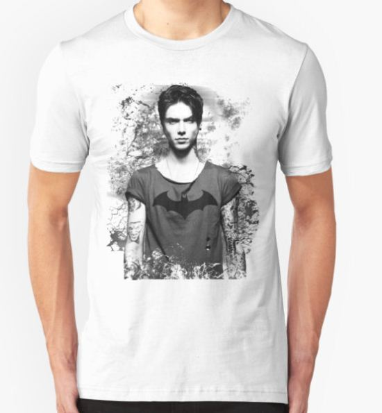 Andy Biersack Contrast T-Shirt by Itsjustrob T-Shirt